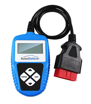 Automobilių eleketronikos patikrinimo prietaisas