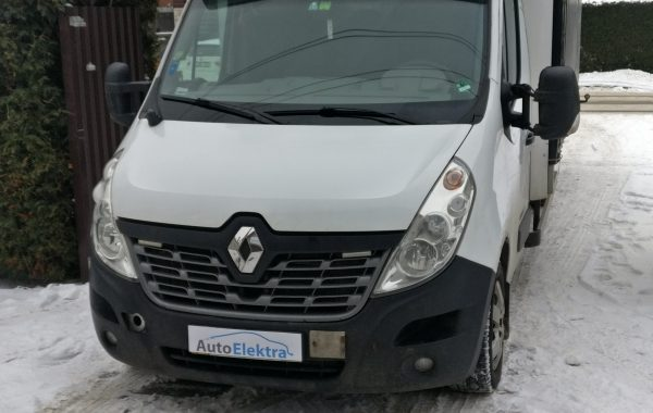 Renault Master 2.3dCi EGR, DPF programavimas