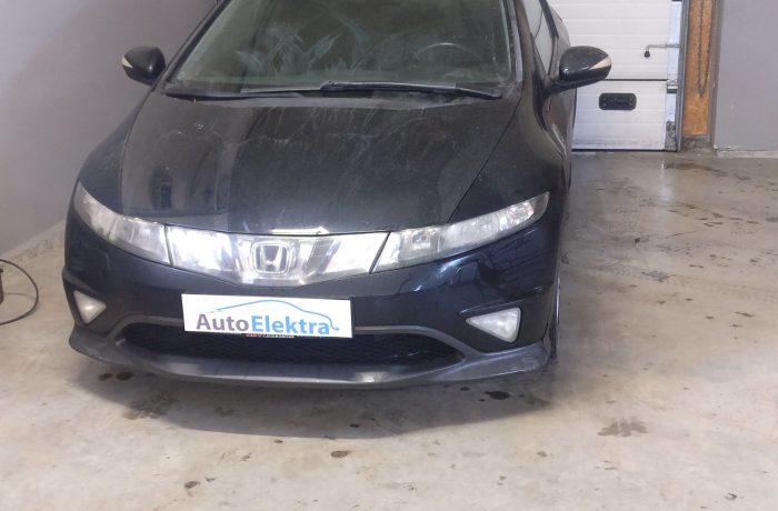 Honda Civic 2.2i-CDTi EGR, DPF, SWIRL Flap programavimas