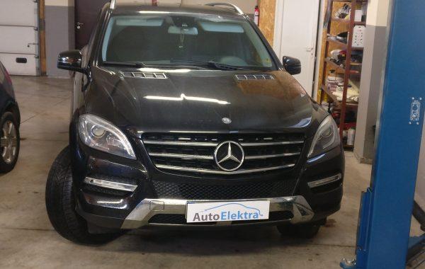 Mercedes-Benz ML350 3.5CDI AdBlue programavimas