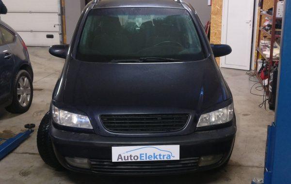 Opel Zafira 2.0 DTI EGR programavimas