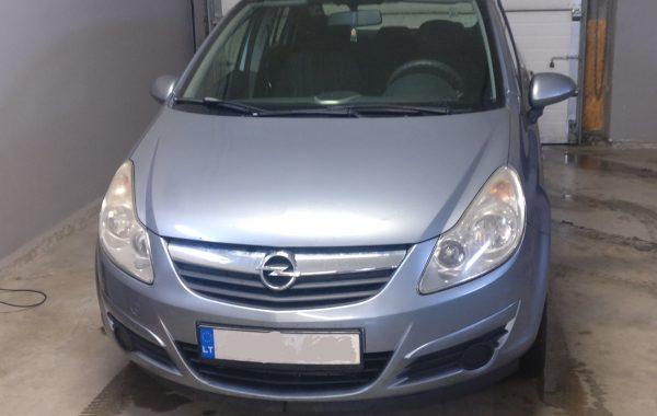Opel Corsa 1.3CDTI EGR programavimas