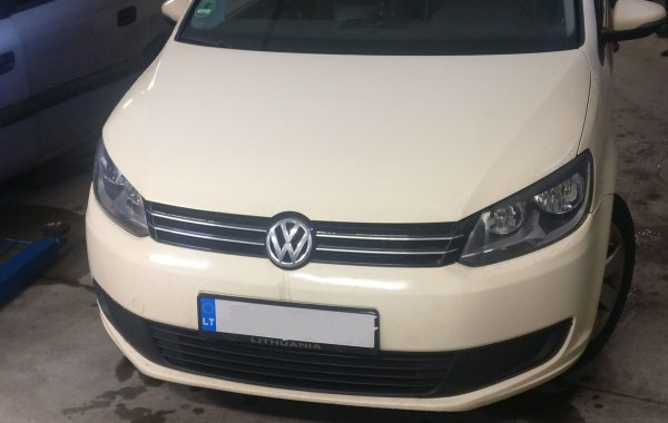 Volkswagen Touran 1.6TDI EGR programavimas