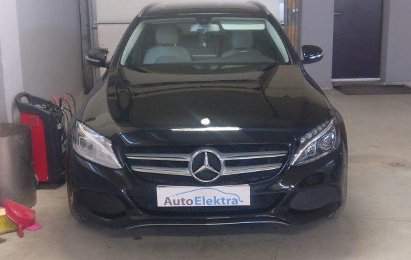 Mercedes-Benz C220 BlueTEC TPMS išjungimas