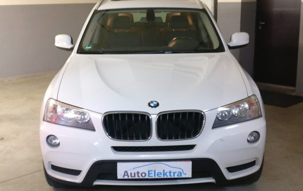BMW X3 2.0D DPF programavimas