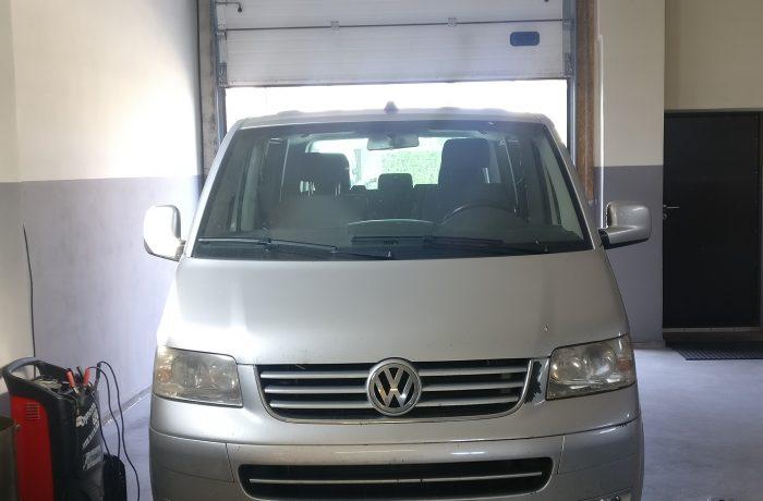 Volkswagen Transporter 2.5TDI Galios didinimas