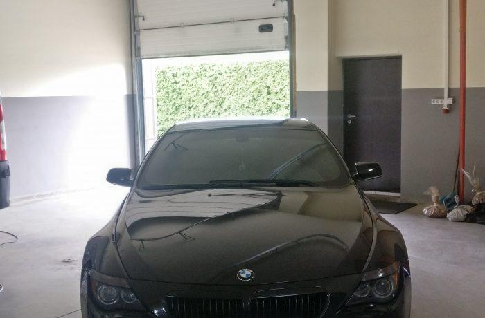 BMW 650i katalizatoriaus išjungimas