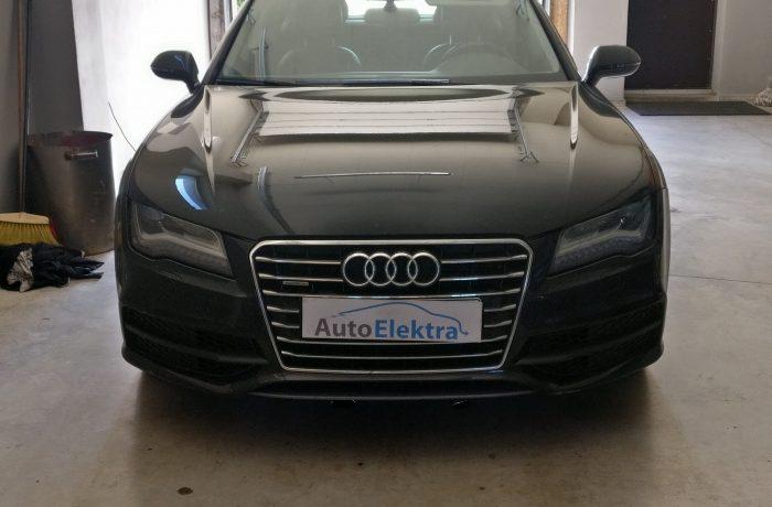 Audi A7 3.0TFSI  Katalizatoriaus programavimas