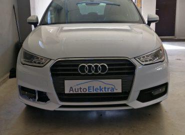 Audi A1 1.4TFSI centrinio užrakto programavimas