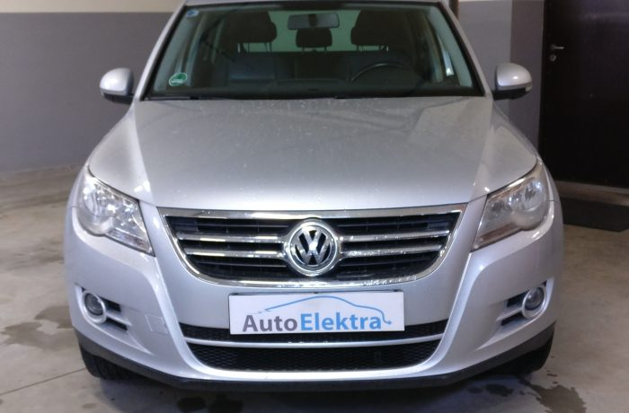 Volkswagen Tiguan 2.0TSI Swirl skledės programavimas