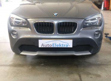 BMW X1 2.0D DPF išmetimas