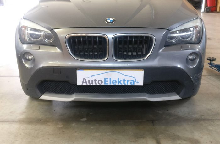 BMW X1 2.0D DPF išmetimas