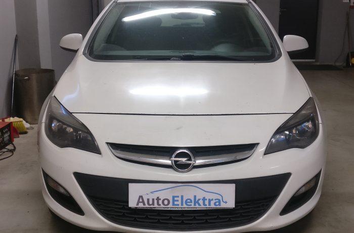 Opel Astra 1.7CDTi  EGR, DPF išjungimas