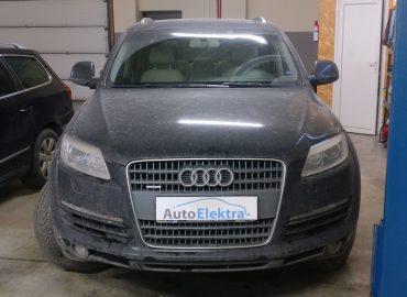 Audi Q7 3.0TDI Vairo užrakto išjungimas