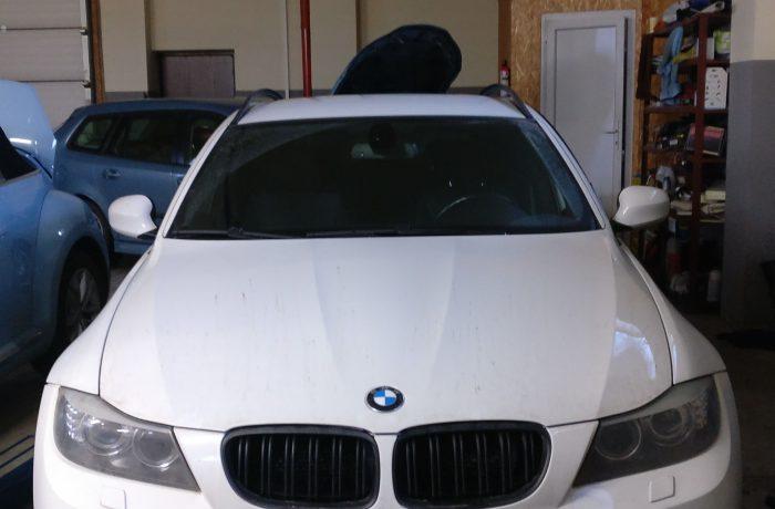 BMW 318D DPF programavimas, Galios didinimas