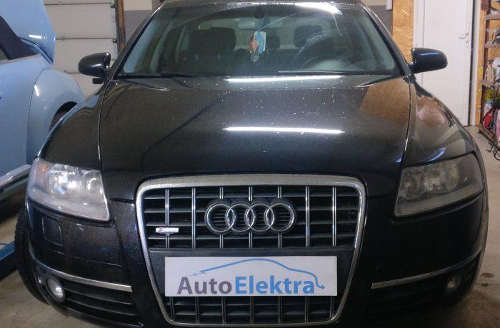 Audi A6 2.0TFSI  Vairo užrakto išjungimas