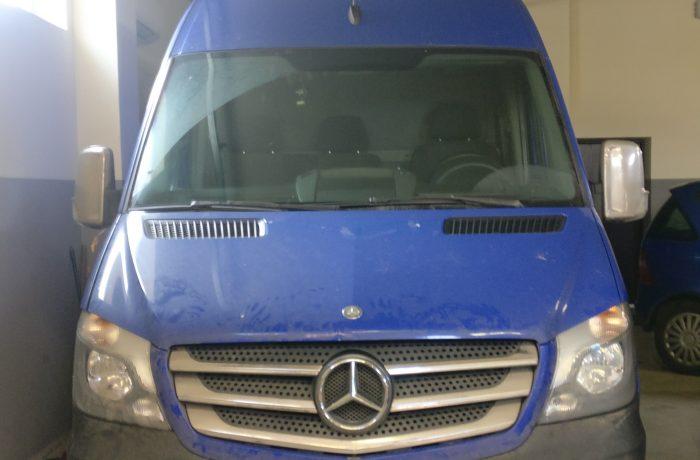 Mercedes – Benz Sprinter 2.1D Greičio dėžės programavimas