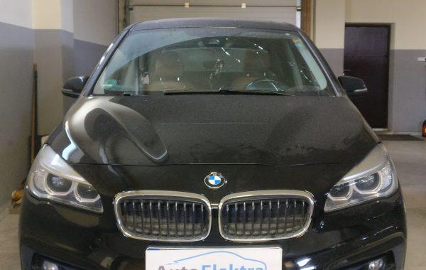 BMW 218 Gran Tourer Pedestrian protection system (Airbag) tvarkymas, Priekinių žibintų programavimas