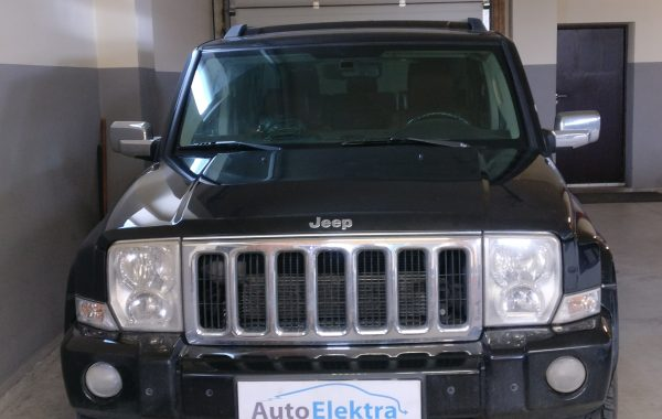 Jeep Commander 3.0CRD Swirl sklendės progamavimas