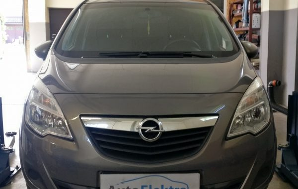 Opel Meriva 1.7 CDTi EGR, DPF programavimas