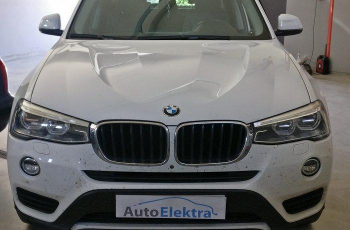 BMW X3 2.0 D Adblue sistemos programavimas
