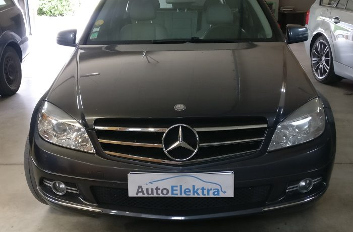 Mercedes Benz C200 CDI  Galios didinimas