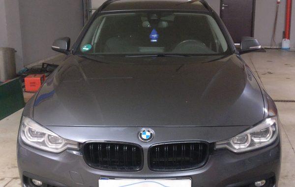 BMW 318D  EGR programavimas