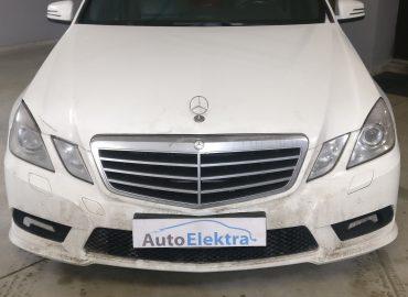Mercedes Benz E300 3.0D EGR, DPF programavimas, galios didinimas, agility rėžimo programavimas
