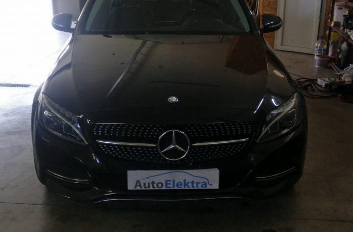 Mercedes Benz C220CDI Variklio valdymo programos atnaujinimas, EGR, DPF, AdBlue progamavimas