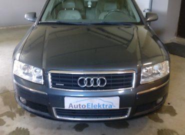 Audi A8 3.0TDI Prietaisų skydelio keitimas, component protection programavimas