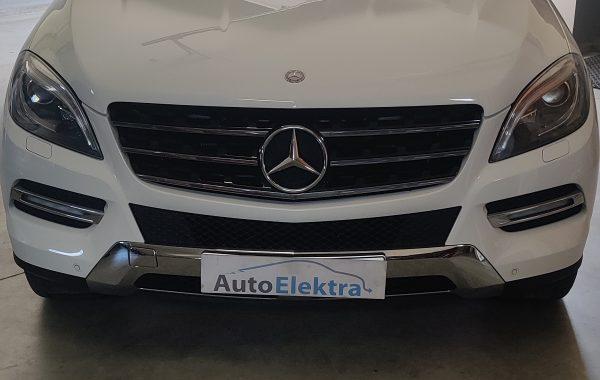 Mercedes Benz ML 350D Išjungtos Swirl sklendės