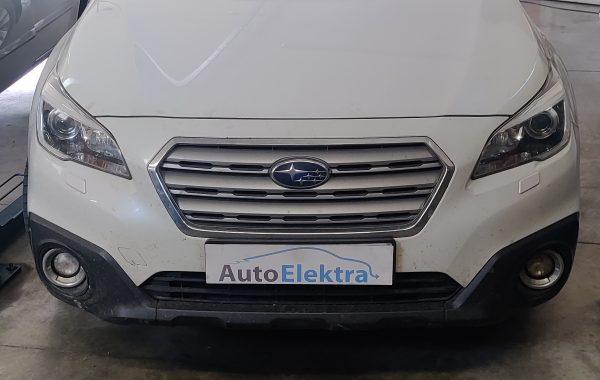 Subaru Forester 2.0D DPF, išmetamųjų dujų sklendės programavimas