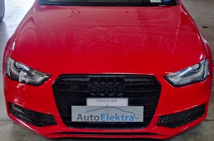 Audi S4 3.0TFSI Radijo grotuvo component protection išjungimas