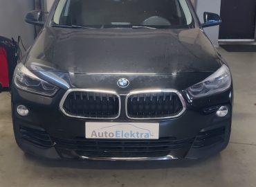 BMW X2 18d  2.0D Adblue (SCR), DPF programavimas